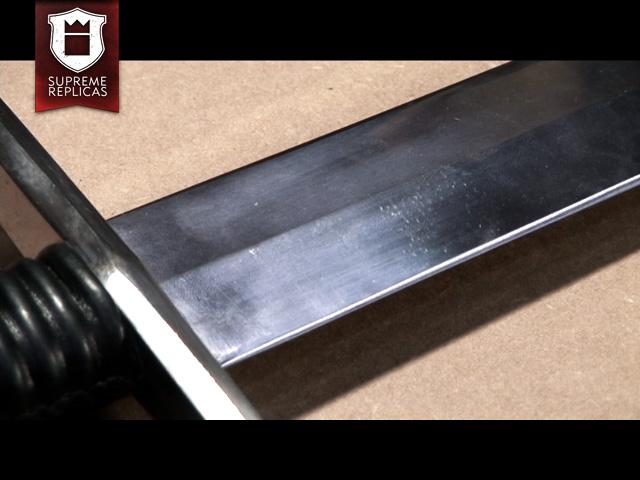 Blankwaffenpflege - Fingerabdrücke auf Klinge